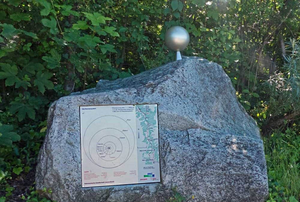 Exploring the Solar System on Zurich's Uetliberg