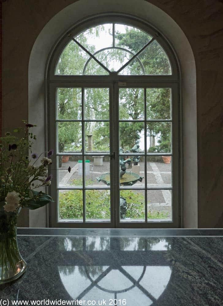 Inside the house at the Millesgården, Stockholm