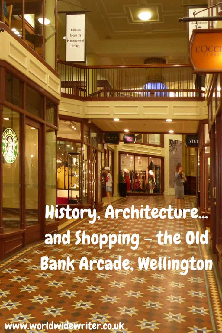 Old Bank Arcade, Wellington