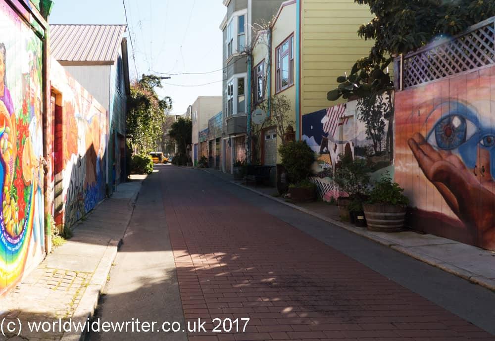 Balmy Alley, San Francisco