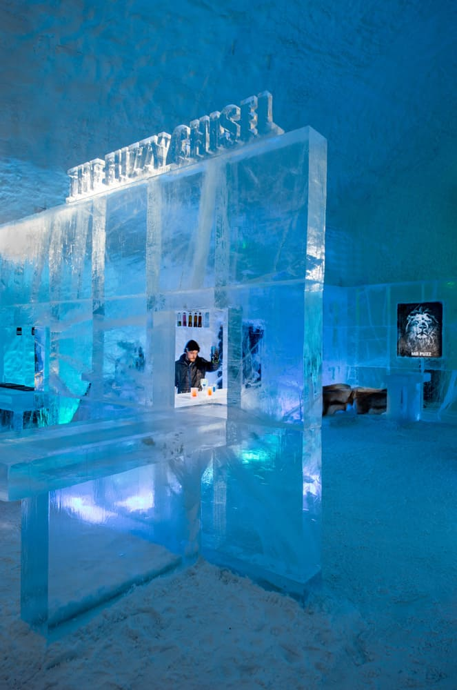 IceBar in the IceHotel