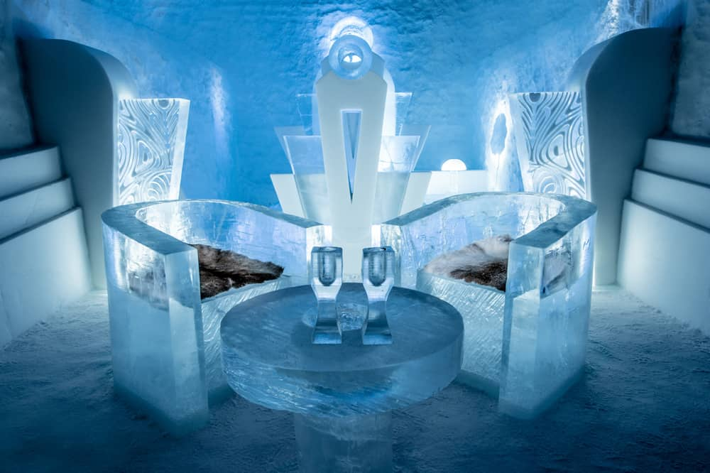 Deluxe suite, IceHotel