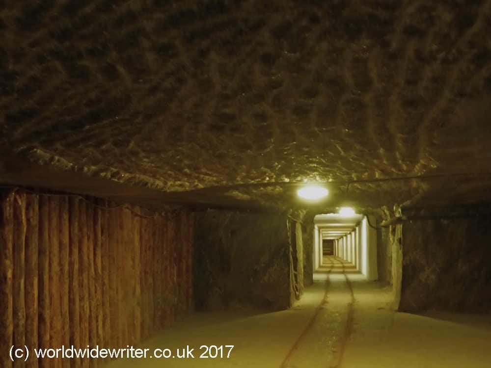 Corridor n the Wieliczka Salt Mine