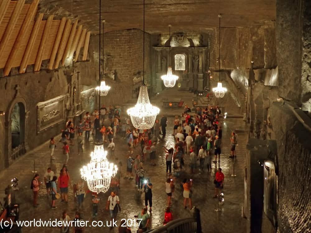 Salt cathedral, Wieliczka Salt Mine