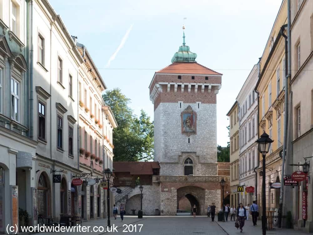 St Florian's Gate, Kraków