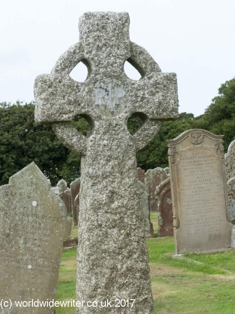 Gravestone at Maughold, Isle of Man