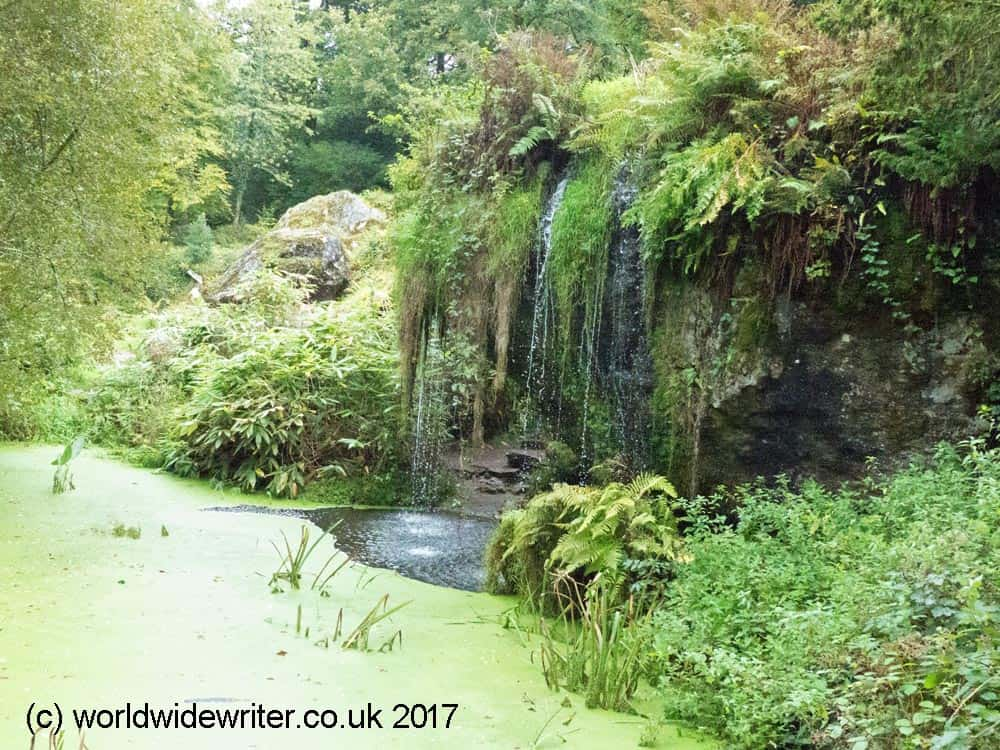 Waterfall, Blarney Castle, County Cork