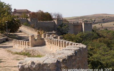 Exploring the City Walls and Alcazar of Segovia