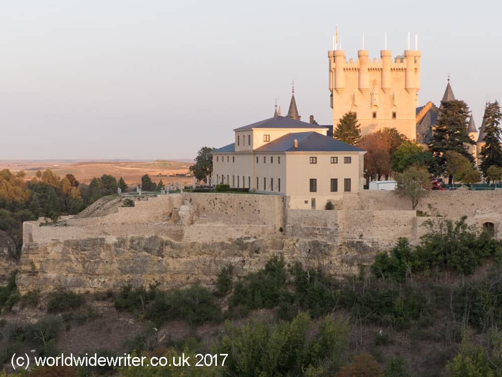 City walls and Alcazar, Segovia
