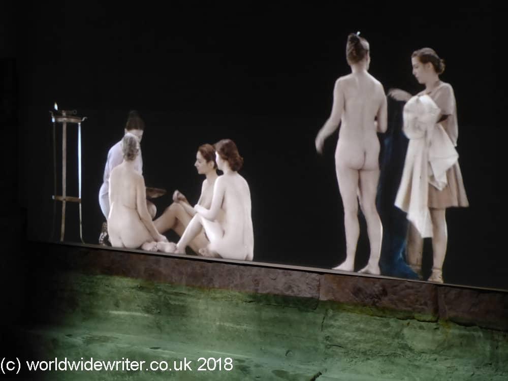 Bathers n the Roman Baths, Bath
