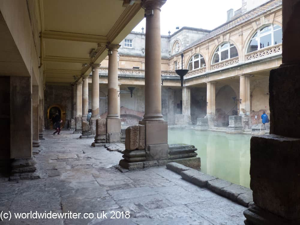 Great bath, Roman springs and spa of Bath