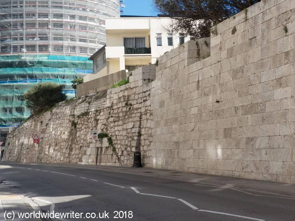 Line Wall, Gibraltar