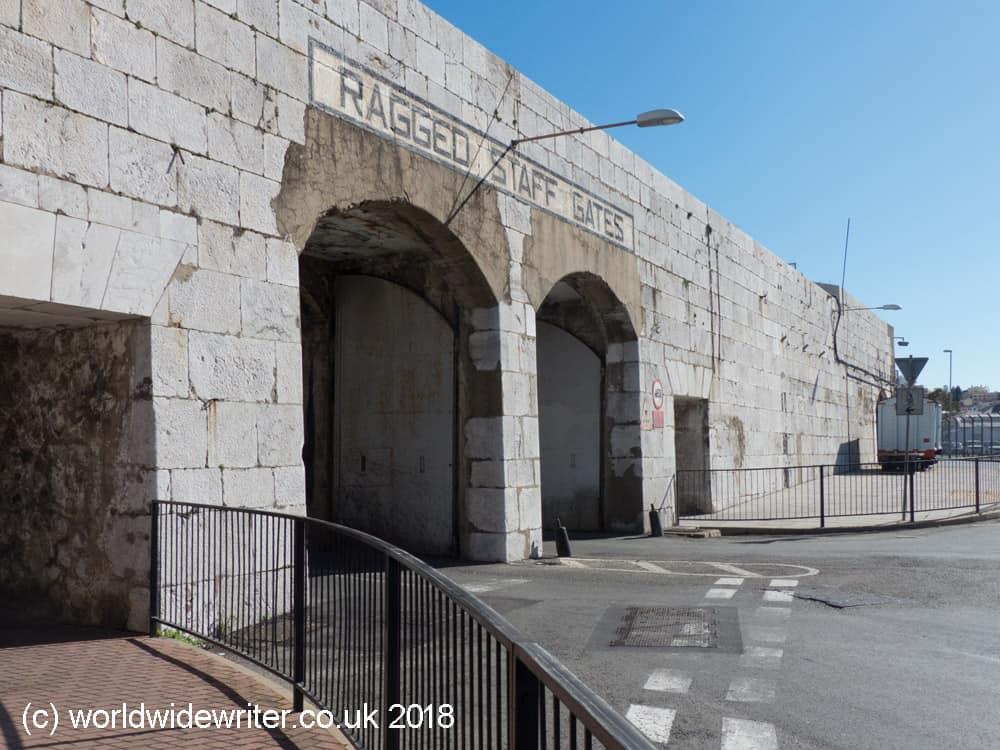 Ragged Staff Gates, Gibraltar