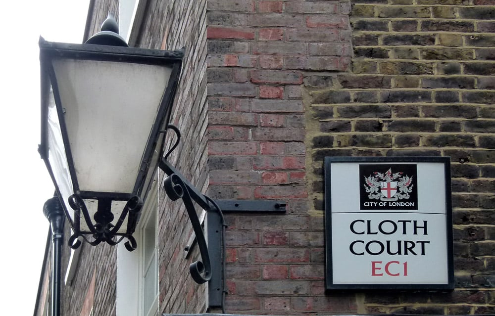 Cloth Court, London