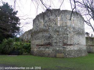 Multangular tower, York