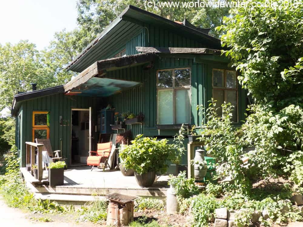 House in Freetown Christiania