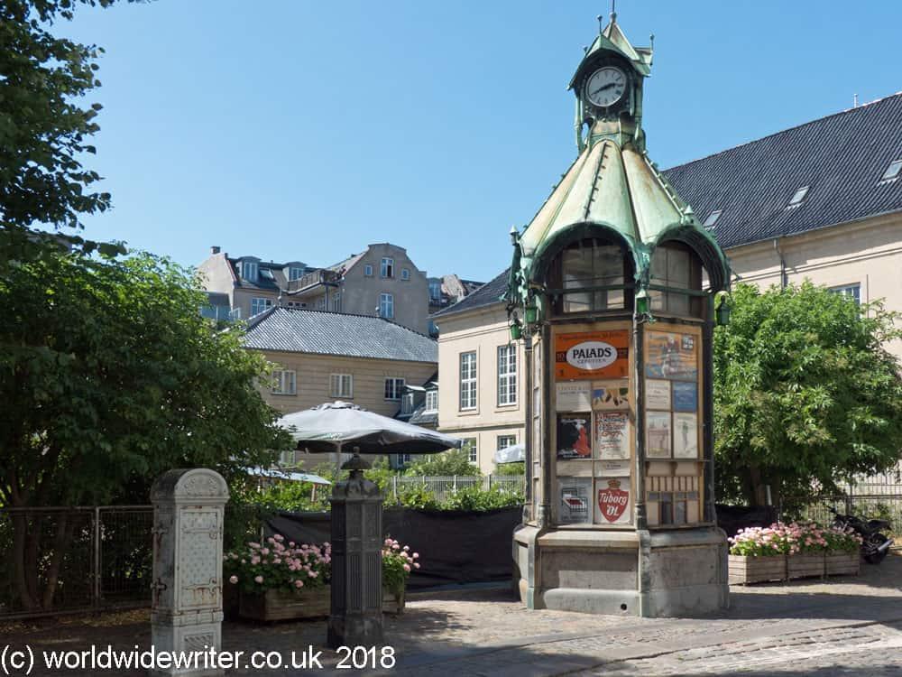 Museum street, Copenhagen