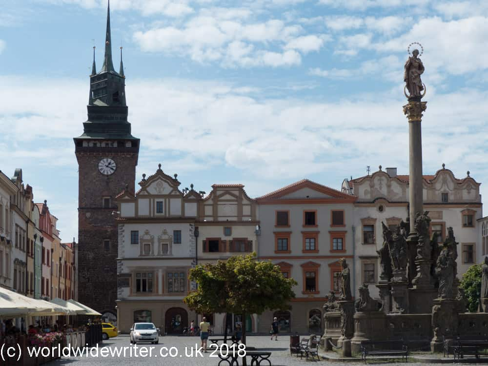 Pardubice Town Square