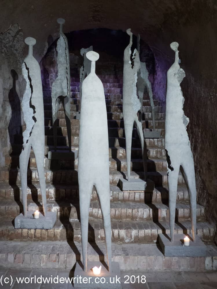 Sculptures in Litomyšl Castle