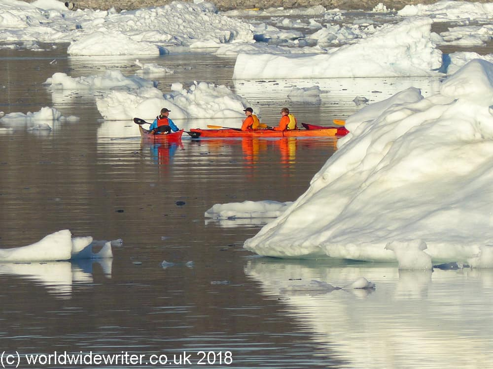 Canoes in the Arctic