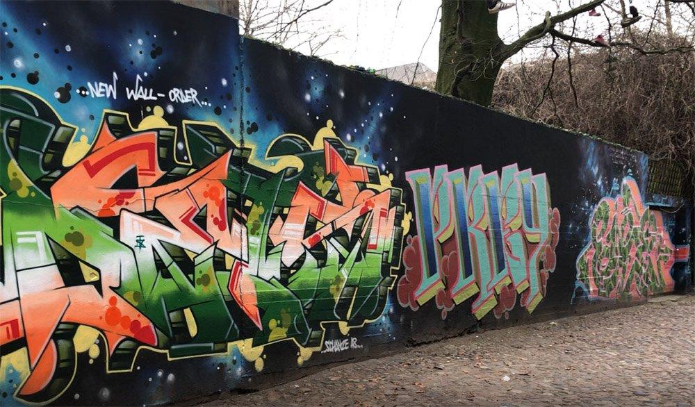 Street art, St Pauli, Hamburg