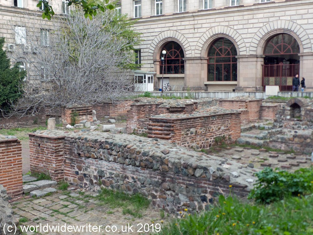 Archaeological site at St George Rotunda, Sofia