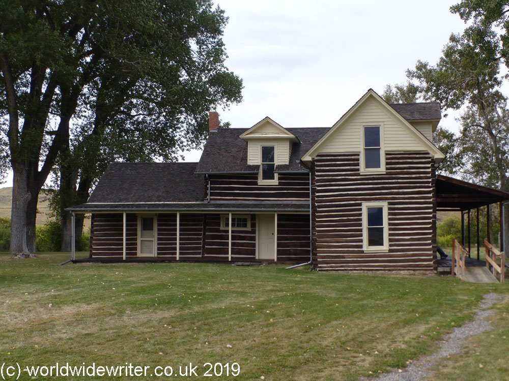 Chief Plenty Coups' log cabin