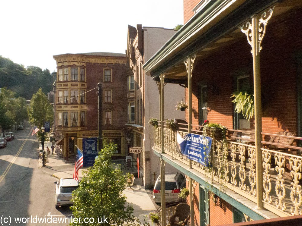 Historic buildings in Jim Thorpe, Pennsylvania