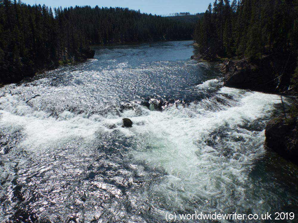 Cascade on the Yellowstone River