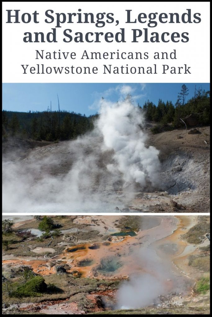 Hot springs and geysers of Yellowstone Park
