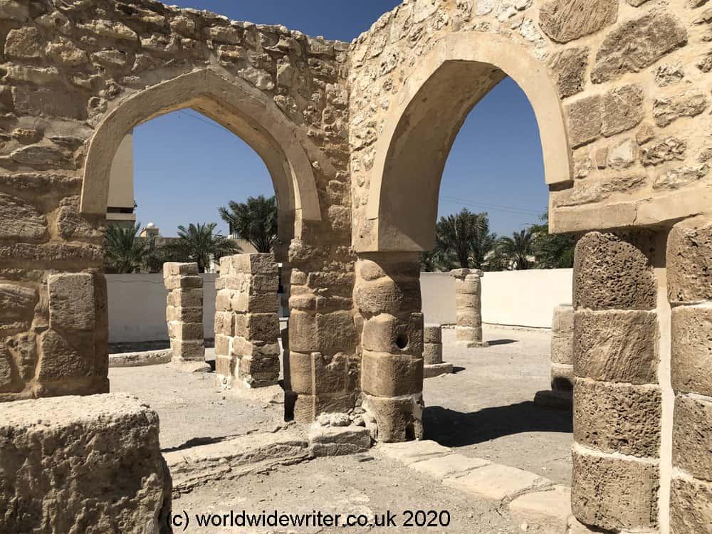 Arches of the Al Khamis Mosque