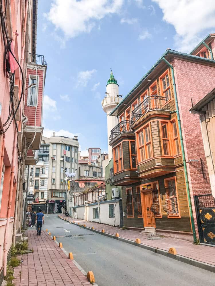 Old street in Sultanahmet