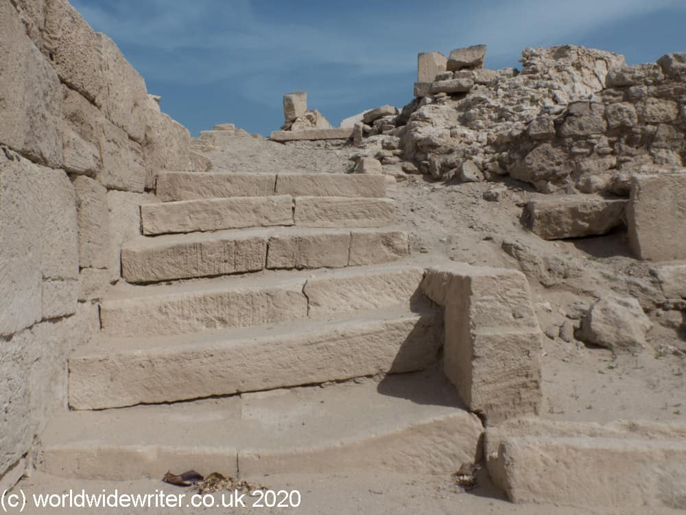 Steps at the Temple of Barbar