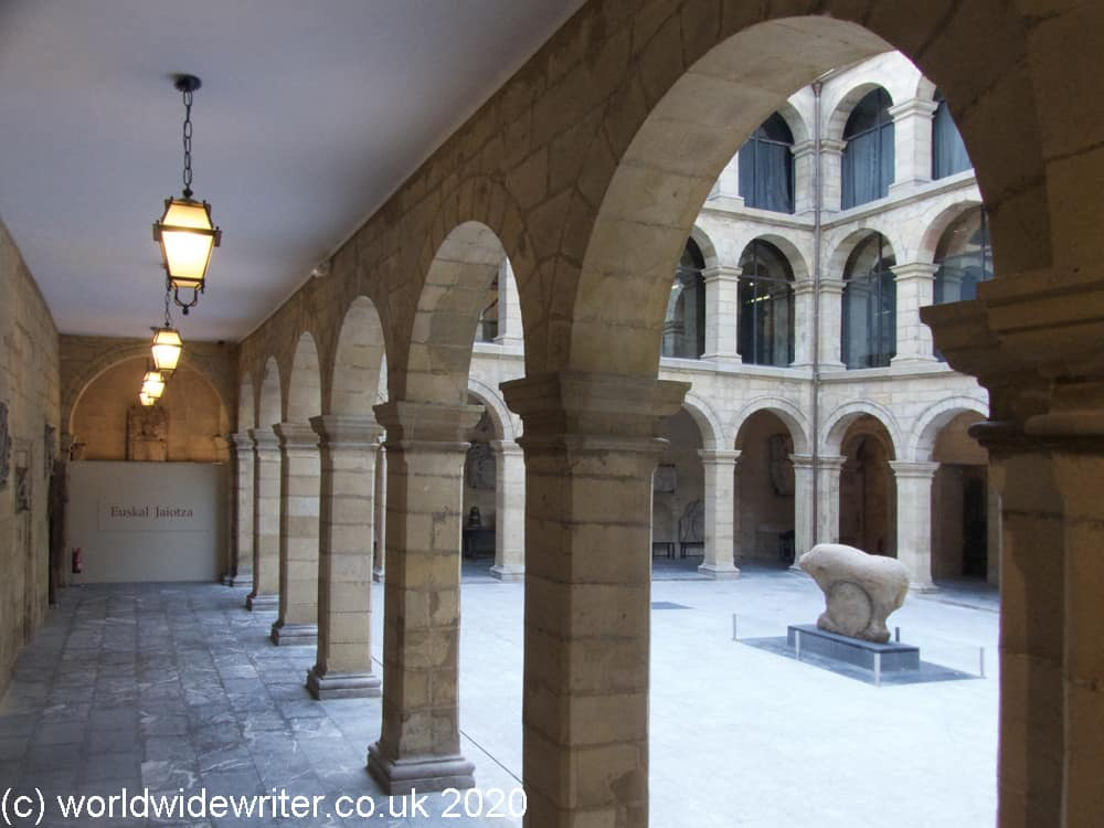 Courtyard of the Basque Museum