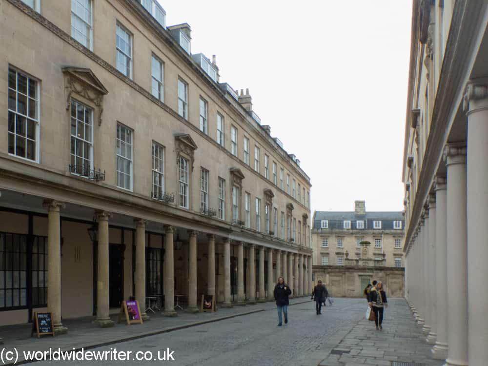 The Georgian architecture of Bath Street