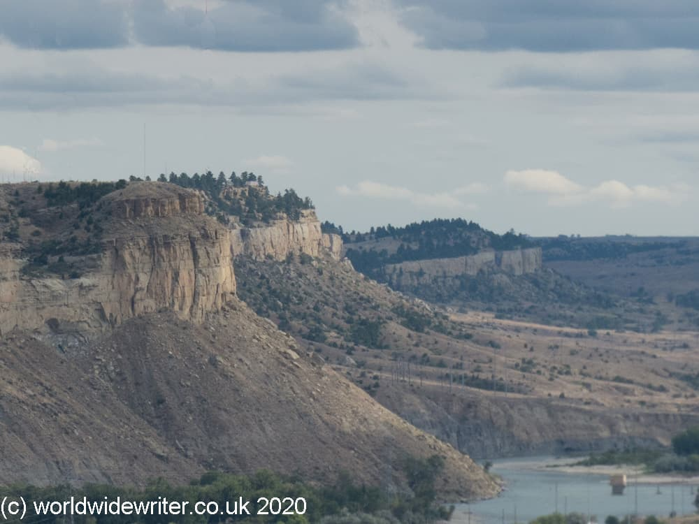 Tall rim rocks of Billings