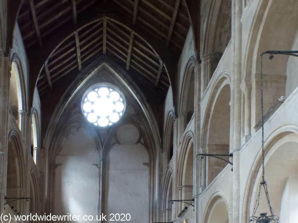 Arches inside Binham Priory Church