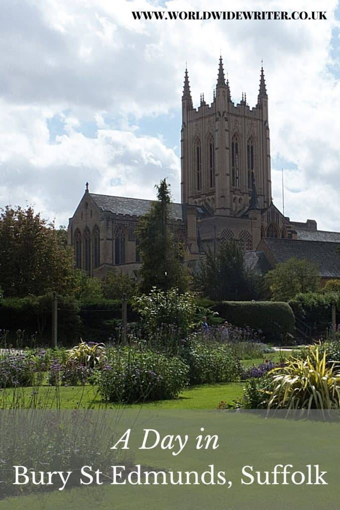 St Edmundsbury Cathedral and the Abbey Gardens