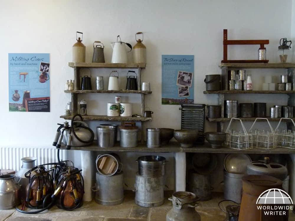 Traditional cheese making tools
