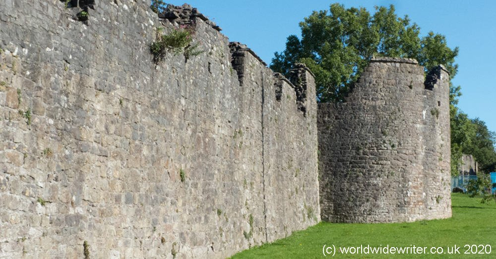 Medieval wall at Chepstow