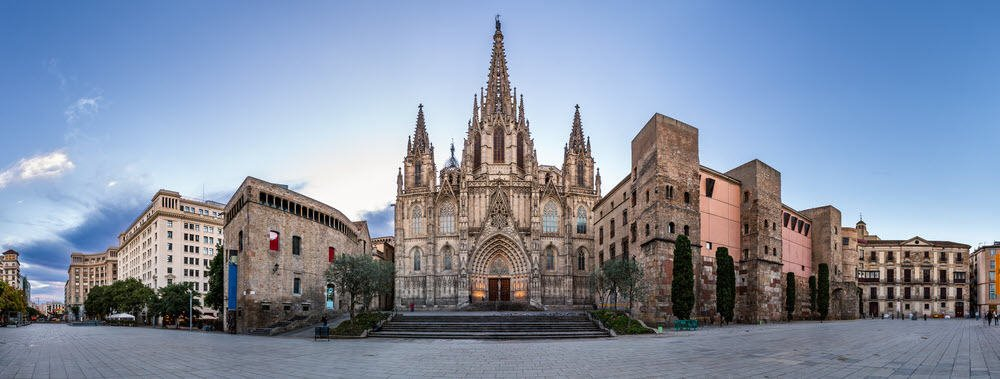 Buildings of Barcelona