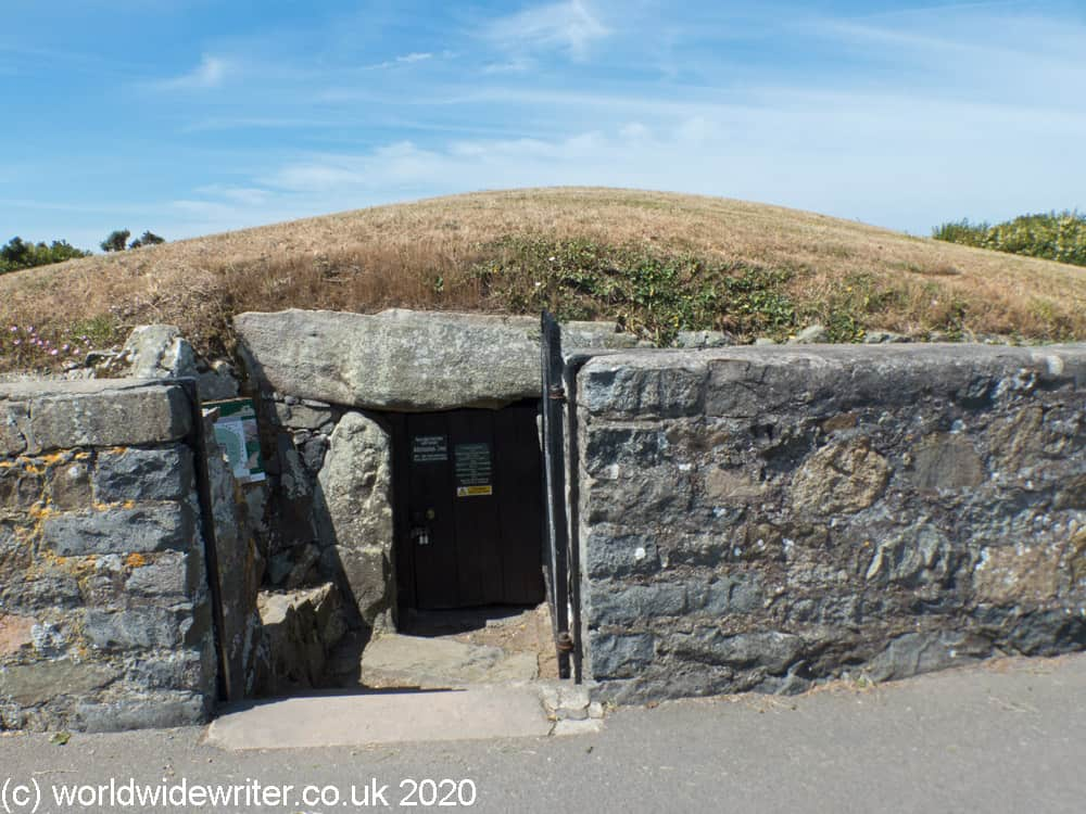 Entrance to the Dehus Dolmen