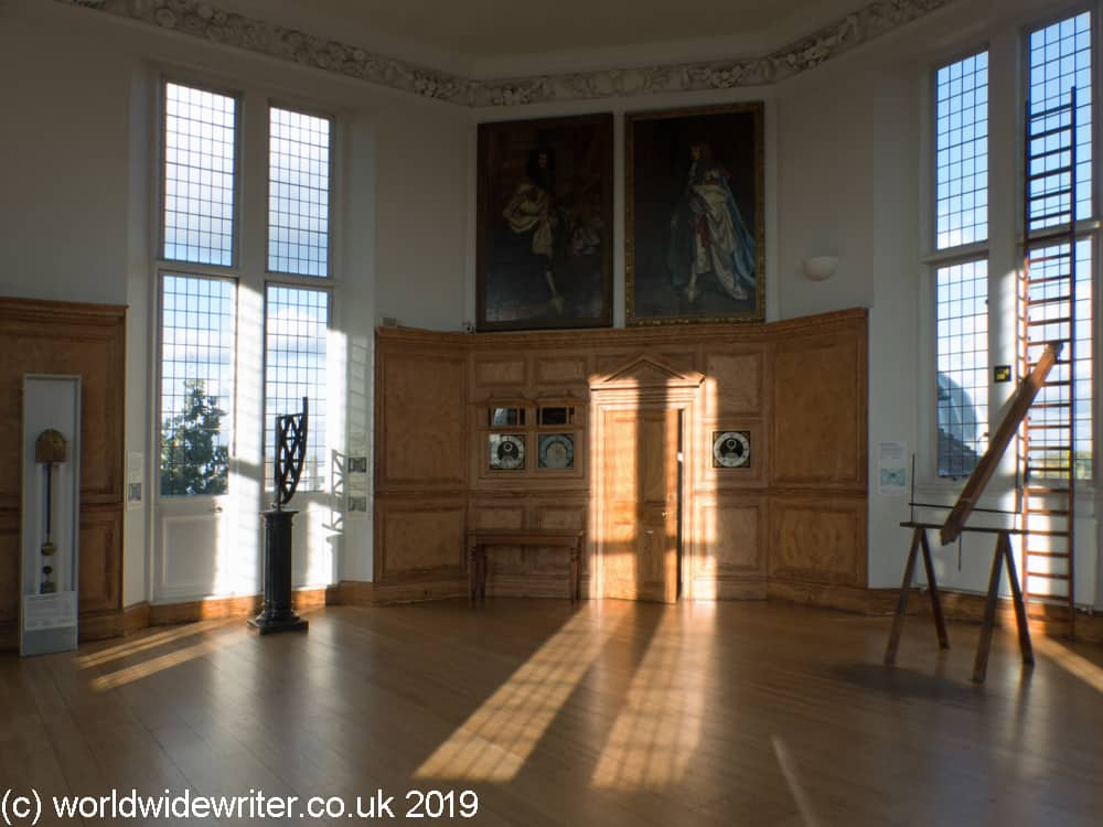 The Octagon Room in Flamsteed House