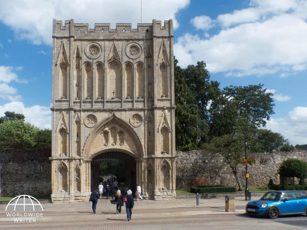 Medieval stone gateway