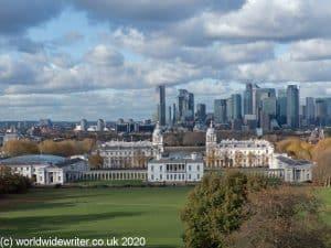 Greenwich skyline