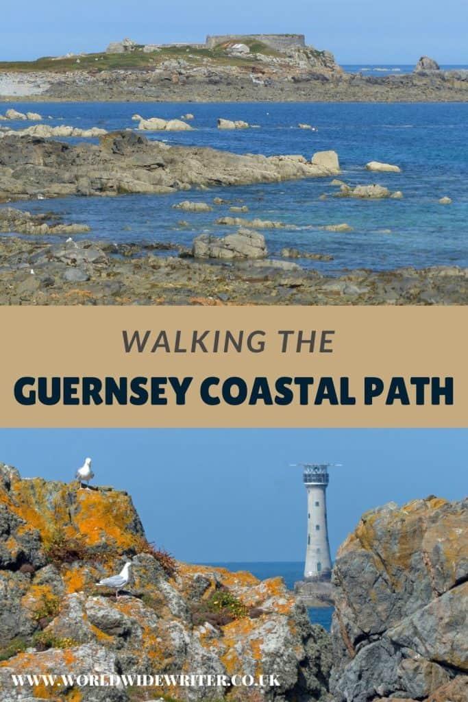 Pinterest image showing coastal scenery
