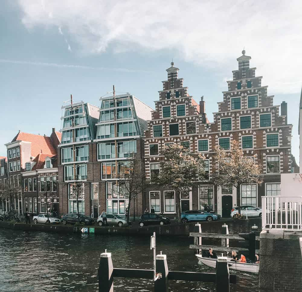 Exploring the canals and the medieval buildings during two days in Haarlem