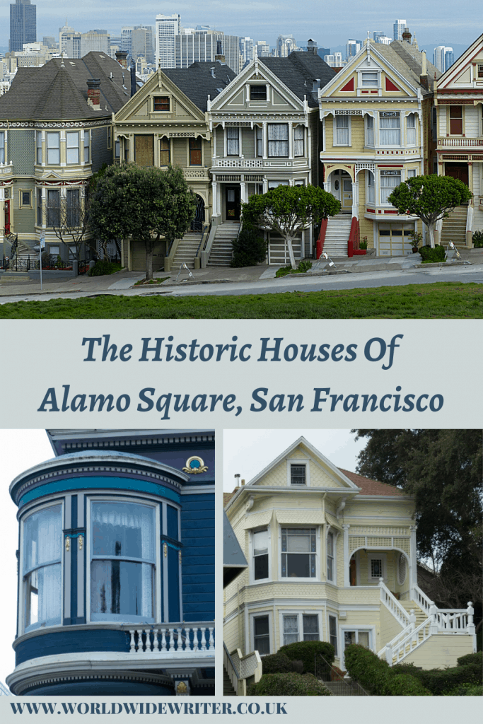 Houses of Alamo Square - pinterest image