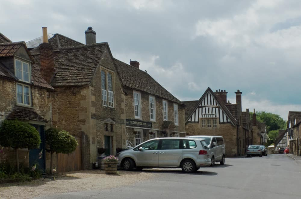 Old buildings of Lacock