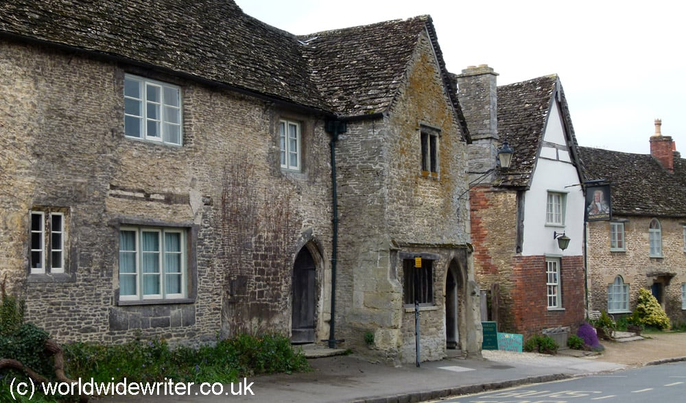 Old houses in Lacock